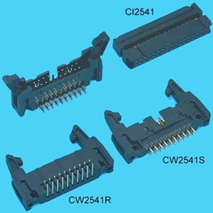 "0.100""(2.54mm) Pitch Dual Row IDC Headers - DIP type"
