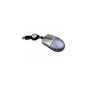 Mouse, Optical, Retractable USB, Super Mini
