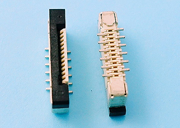 FPC 0.5mm H:2.0 Push-Pull SMT Vertical Connector Normal Type