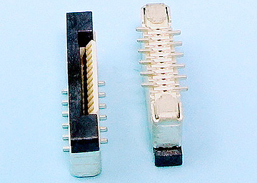 FPC 0.5mm H:2.0 Push-Pull SMT Vertical Connector Reverse Type