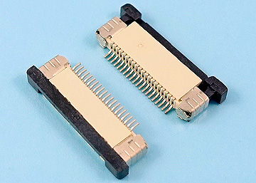 FPC 0.5mm H:2.0 Push-Pull SMT R/A Upper Type Connector