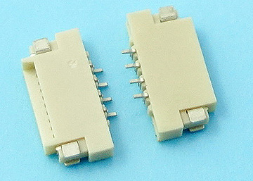 FPC 1.0mm H:1.5 NON-ZIF SMT  Dual Contact Type Connector