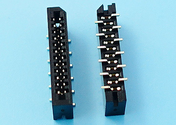 FPC 1.0mm H:2.8 NON-ZIF  SMT Vertical Connector Normal&Reverse Type