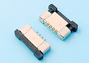 FPC 1.0mm H:2.0  Push-Pull  SMT R/A Lower Type Connector