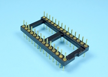 2.54mm Machined Pin Header IC Socket (0.6 inch Wide)