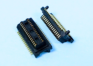 "0.50mm(0.0197"") Pitch Board To Board Male Connector  SMT Type H=2.4mm,Pegs ,CAP"