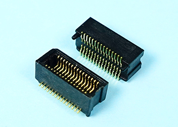 "0.50mm(0.0197"") Pitch Board To Board Female Connector  SMT Type  H=3.70mm,Pegs ,CAP"