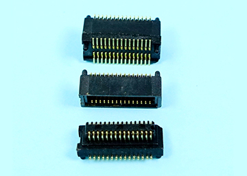 "0.50mm(0.0197"") Pitch Board To Board Connector SMT Type  Male+Female H=4.00mm,Pegs"
