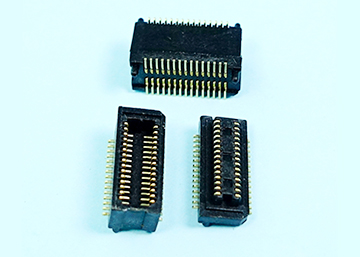 "0.50mm(0.0197"") Pitch Board To Board Connector SMT Type  Male+Female H=5.00mm,Pegs"
