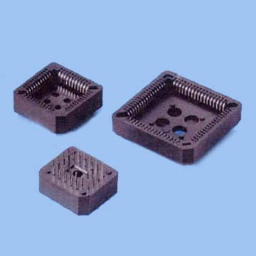 2110 -  PLCC SOCKET DIP TYPE Pitch:2.54mm PBT and PPS RoHS (11/07) - Leamax Enterprise Co., Ltd.