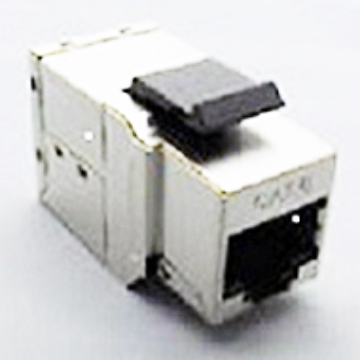 Shielded Cat.5e/ Cat.6 RJ45 Keystone - Send-Victory Corp.