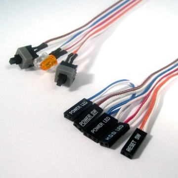 CASE Panel LED+SWITCH wire harness