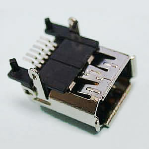 1394S - IEEE1394 Female Single SMT - Townes Enterprise Co.,Ltd