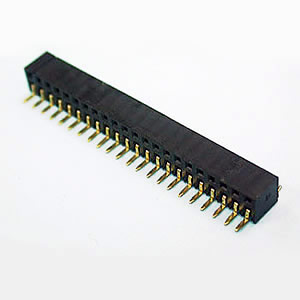 Dual Row 04 to 80 Contacts Side Entry SMT Type