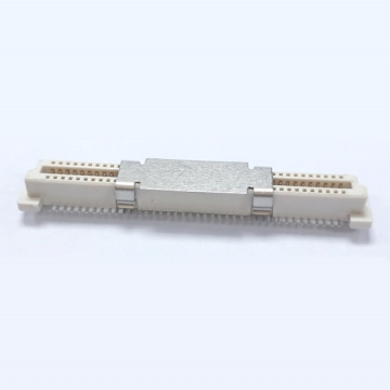 0.8mm Pitch OCP High Speed 12G Board to Board Connector 3.7H Receptacle Connector
