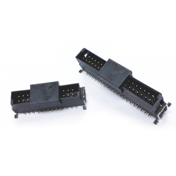 1.27mm Pitch Dual Board to Board Male Connector Vertical SMT TYPE (SMC)