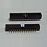 2002 SERIES CENTER LOW PROFILE HEADER FOR USE WITH IDC SOCKET CONNECTOR   - Vensik Electronics Co., Ltd.