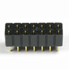 2804 SERIES CENTER DUAL ROW P.C.BOARD CONNECTORS