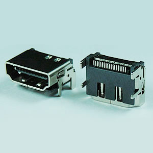 HDMI-19P-SMT - HDMI 19P SMT TYPE (NO FLANGE) - Vensik Electronics Co., Ltd.