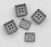 350-1 series - PLCC-Chip-Carrier Sockets  for Dip straight & SMT- Type-flat - Weitronic Enterprise Co., Ltd.