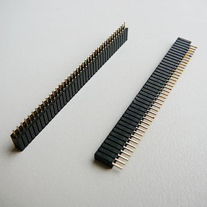 1.27 mm Single Row Straight Angle Headers