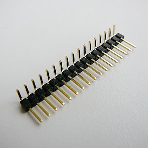 2.0 mm Single Row Male Straight Header