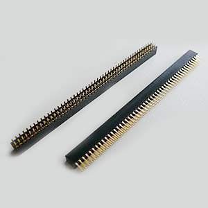 2.0 mm Dual Row Female Female Straight Angle Header