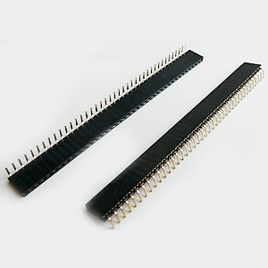 2.54 mm Single Row Right Angle Headers